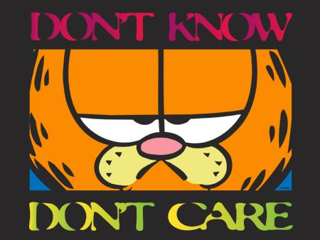 garfield don't care